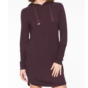 Athleta Solitude Hoodie Sweatshirt Dress size L